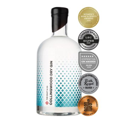Multi award winning gin from Collingwood, Melbourne