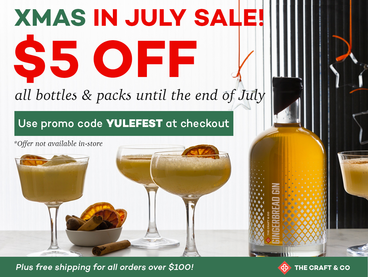 The Craft and Co XMAS in July Sale